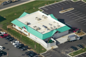 Commercial roofing maintenance in North Carolina